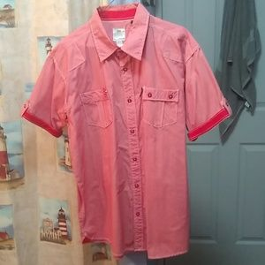 Short Sleeve Button Up by PJ Mark 2XL